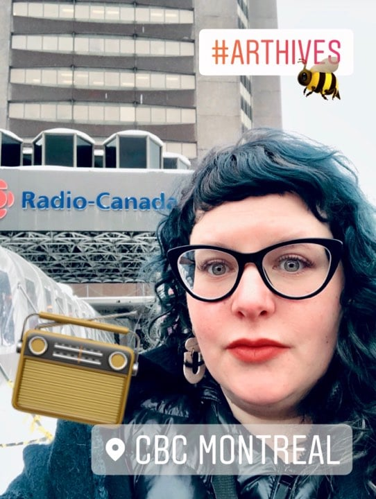 Rachel Chainey, CBC Radio 1 interview.