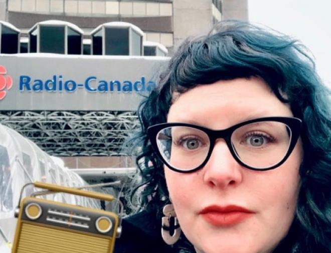 Rachel Chainey, CBC Radio 1 interview.